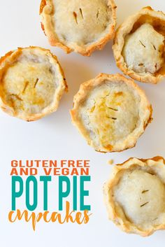 Veggie Pot Pie Cupcakes