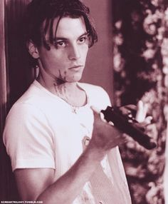 Skeet Ulrich playing a cold blooded killer in Scream. effing hot one!