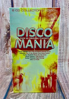 Disco Mania 6 CD Collector's Edition 102 Songs Party Christmas Birthday BOXSET for sale online Le Freak, Move On Up, Dancers Body, Cds For Sale, Christmas Birthday, The Collector, Snack Recipes, Songs, The Originals