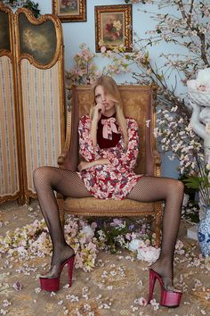 Cute, quirky, and stylish looks from women's fashion brand For Love And Lemons create a memorable fall 2017 collection you can't miss.