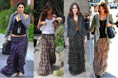 maxi skirt.. i wanna be able to wear these