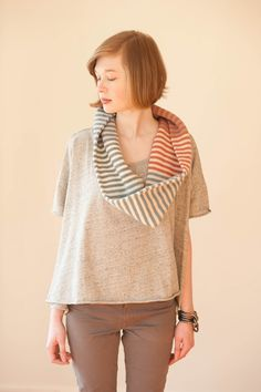 Quince & Co. sells such beautiful patterns and yarn...stripes are always good for stashbusting!