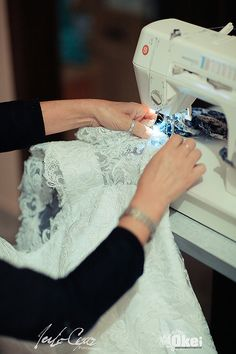custureira o vestido da noiva
