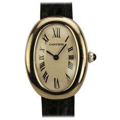 GABRIELLE'S AMAZING FANTASY CLOSET | Cartier Lady's White Gold Baignoire Wristwatch circa 2000s | Saved for Future Outfits in Gabrielle's Amazing Fantasy Closet