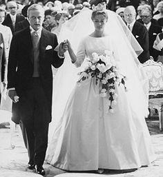 Prinsessan Birgitta av Sverige och prins Johann Georg av Hohenzollern-Sigmaringen 1961.