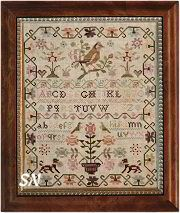 The Pink Sparrow Sampler - With Thy Needle & Thread
