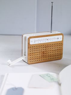 Brilliant Wind Up Radio - Just wind this neat little bamboo AM/FM radio up for two short minutes and get thirty minutes of listening, wherever you feel like being. £45.00
