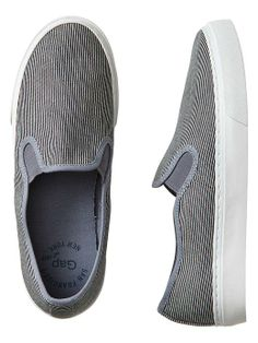 Gap // Slip On Sneakers // Railroad Stripe