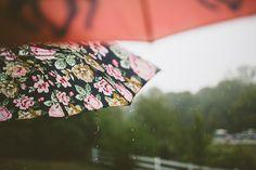 oh gosh, a rainy day wedding. #perfection