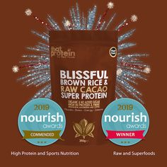The top vegan protein powders! That Protein have just won for the second year at the NOURISH Awards. The Company is headed by a young highly qualified nutritionist that only uses premium ingredients. No fillers just pure vegan goodness. Best Vegan Protein, Vegan Protein Powder, Protein Power, Vegan Clean, Digestion Process, Plant Based Nutrition, Food Out, Raw Cacao, Plant Protein