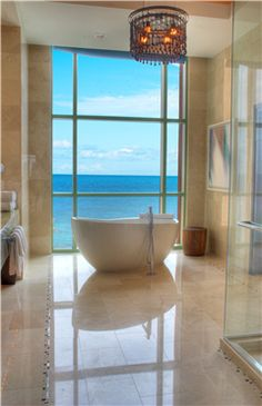 Presidential Suite Bathroom at Atlantis Resort in the Bahamas: http://www.atlantis.com/accommodations/thecoveatlantis/nightlife/barsandlounges.aspx