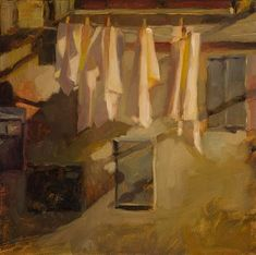 Five Pins, Civita by Connie Hayes. Listen to an interview with Connie here: http://savvypainter.com/podcast/connie-hayes/