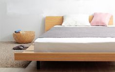 Wood Bed Frame Singapore_Platform Bed Amaya (2)
