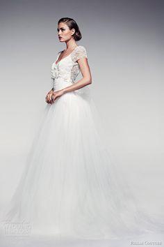awesomeweddingdresses:  http://www.weddinginspirasi.com/2013/06/19/pallas-couture-spring-summer-2014-fleur-blanche-bridal-collection/2/