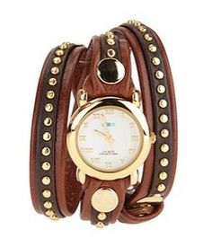 """NEW mk studded wrap wacthes...sure to have the """"look-a-like"""" in DressU soon"""