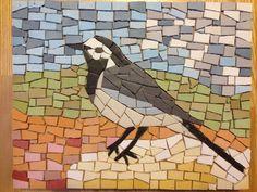 Wagtail Mosaic Bird