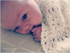 Ravelry: Flower Motif Baby Blanket pattern by Lisa van Klaveren