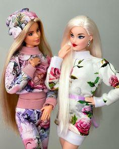 Diy Barbie Clothes, Doll Clothes, Barbie Mode, Beautiful Barbie Dolls, Barbie Dress, Sewing Tutorials, Harajuku, Miles Apart, Barbie Style