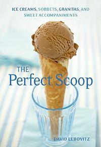 ice cream cookbook