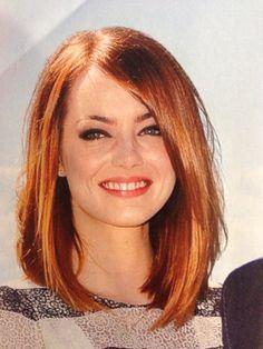 Emma Stone- hair