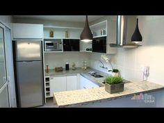 Cozinha Integrada - Sena Construções - YouTube