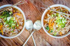 Super Quick + Healing Miso Noodle Soup (Gluten Free + Vegan) | GoodnessGreen