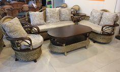 $1963 Rattan Furniture Rattan Sofa