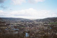 view over bath, bath city centre, bath city uk, travel to bath