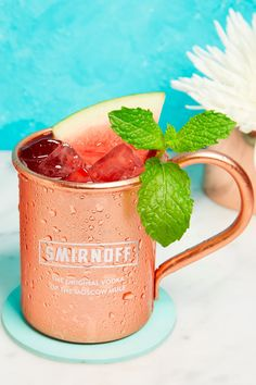 Mix Up Your Moscow Mule with This Summer Fruit