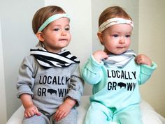 GREY: Locally grown romper by RusteriorThreads on Etsy