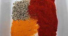Hemmagjorda kryddblandningar, / Homemade seasonings Tip! Wash out and save empty… Fajita Spices, African Spices, Moroccan Spices, Homemade Seasonings, Spice Rub, Cajun Seasoning, Spice Jars, Fajitas, Stevia