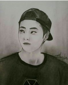 Xiumin fan art fine by me