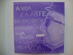 #viniciusdemoraes #pintura #acrilicasobretela #flavialima #arte #painting #acriliconcanvas