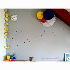 "Stickers confettis ""Studio jolis mômes"" (www.studiojolismomes.com) chez La vie comme un confetti"