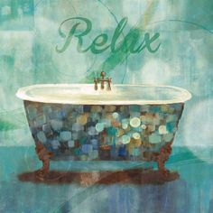 Relax Fine Art Print by Nan at FulcrumGallery.com