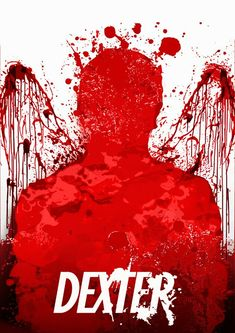 Dexter ~ Minimal TV Series Poster by The Disenchanter Nina Hagen, Movies Showing, Movies And Tv Shows, Dexter Poster, Red Artwork, Minimal Movie Posters, Nerd, Surfer, Dexter Morgan