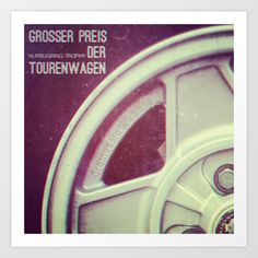 """Grosser Preis Der Tourenwagen"" Art Print by Analogue - $18.00"