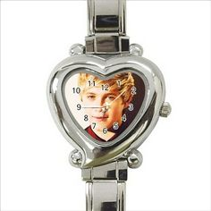 Niall horan one direction Heart Italian Charm Watch. http://stores.shop.ebay.co.uk/giftpick