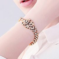 18k Cheetah Bracelet