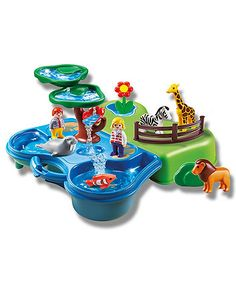 Playmobil Take Along Zoo & Aquarium Playset - 6792 Play Mobile, Baby Girl Toys, Toys For Girls, Elc Toys, Aquariums For Sale, Playmobil Sets, Lego, Fun, Legos