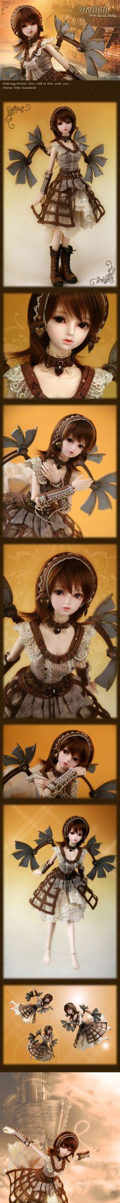 Soom Rosette School of Doll Steampunk Delilah