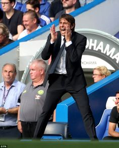 Chelsea manager Antonio Conte has enjoyed a 100 per cent start in the Premier League