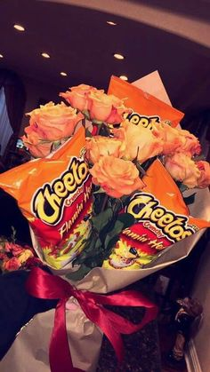 Cheetos, 13th Birthday Parties, Diy Birthday, Birthday Snacks, Orange Gift Basket, Cute Gifts, Diy Gifts, Valentine Baskets, Mexican Birthday