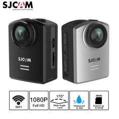 SJCAM M20 Air Action Cameras 40M Waterproof Sports Action Camera Full 1080P HD Camera WiFi NTK96658 Chipset Video DVR Camera  Price: 77.61 & FREE Shipping  #quadcopter #drone #aerialphotography #FPV Dvr Camera, Video Camera, Consumer Technology, Consumer Electronics, Camera Prices, Waterproof Camera, Sports Camera, Gopro Hero, Wide Angle