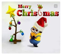 Best Minions Images: Minions are cute and lovely. Minions are very funny. They make people laugh at their silly things. Minions laugh at each other. Christmas Quotes, Christmas Pictures, All Things Christmas, Christmas Humor, Christmas Time, Christmas Crafts, Merry Christmas, Amor Minions, Cute Minions