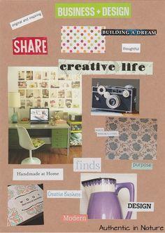creative vision board