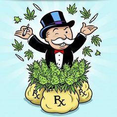 Cannabis Connoisseur & an Entrepreneur? Cannabis, Marijuana Art, Medical Marijuana, Stoner Art, Weed Art, Cartoon Tattoos, Dope Art, How To Get Rich, Cartoon Art
