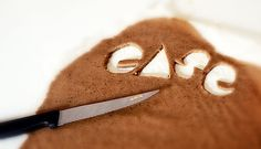 Peppercaker Type / GingerBread Type by 5ive , via Behance