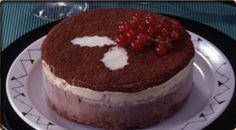 Pastel helado de chocolate 3 capas