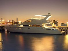 Luxury living on a boat